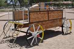 play wagon at Gene C Reid Park
