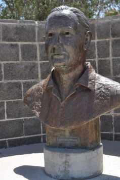 sculpture at Gene C Reid Park