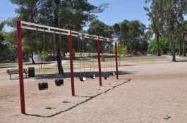 swings on north side of Gene C Reid Park