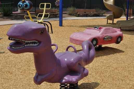 bouncy toys at Rancho Sahuarita