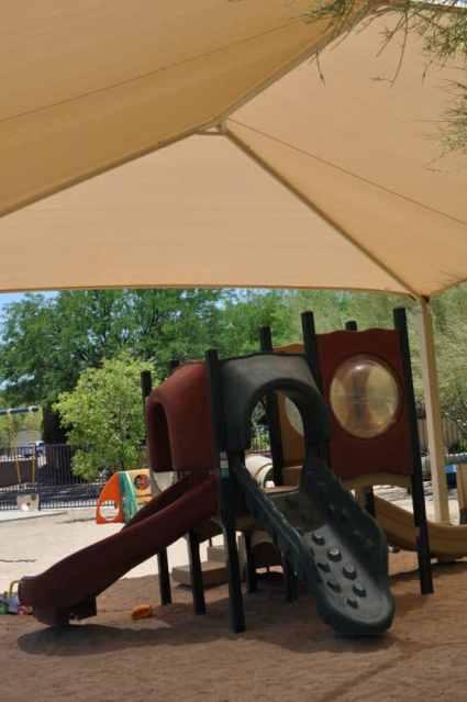 covered playground in Civano