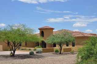 luxury custom homes at Coyote Creek Tucson