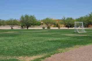 soccer field in Civano