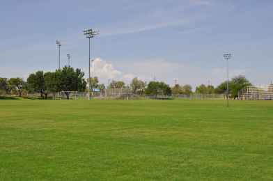 sports fields at Abraham Lincoln Regional Park