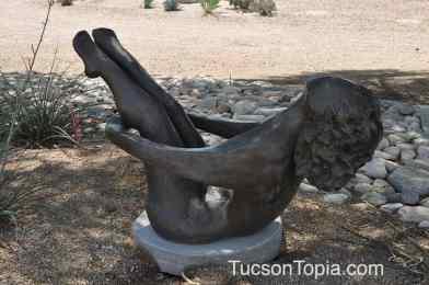 Sculpture Garden at Tucson Jewish Community Center