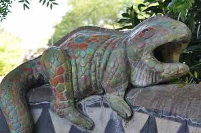 gecko at Reid Park Zoo