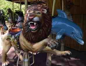 lion carousel Reid Park Zoo