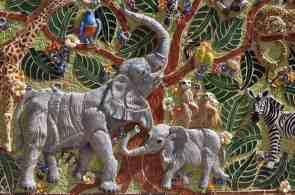 mosaic Reid Park Zoo