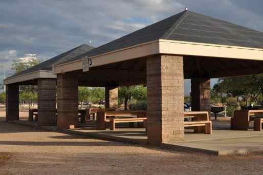 ramadas at Morris K Udall Park