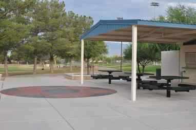 soccer picnic area at Morris K Udall Park