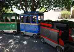train Reid Park Zoo
