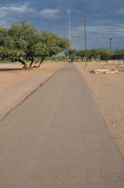 walking path at Morris K Udall Park