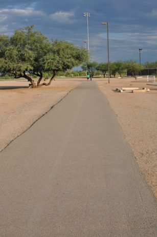walking path at Morris K Udall Park