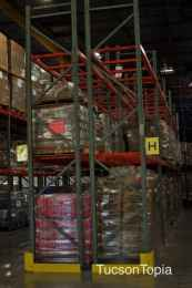 Community Food Bank warehouse is 140,000 sqft