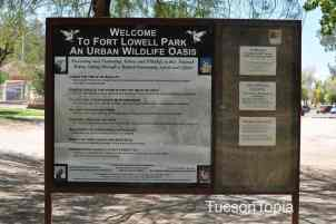 Fort Lowell Park is an Urban Wildlife Oasis