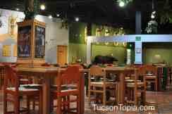 dining area at International Wildlife Museum