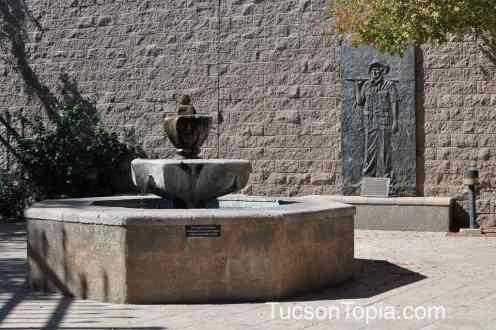 fountain at International Wildlife Museum