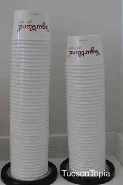 Yogurtland bowls