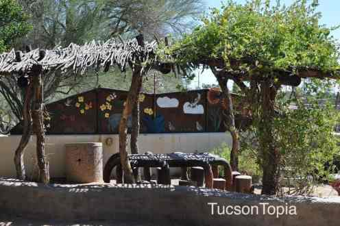 garden for children at Tohono Chul Park
