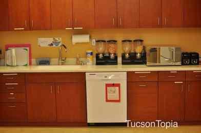 kitchen at Ronald McDonald House Tucson