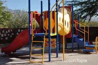 outdoor play area at Ronald McDonald House Tucson