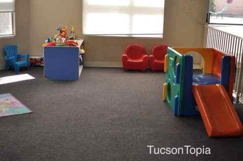 play space at Casa de los Ninos