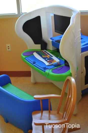 playroom at Ronald McDonald House Tucson