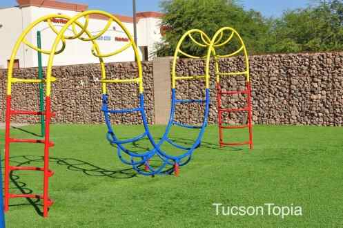 small outdoor play area at BASIS Tucson