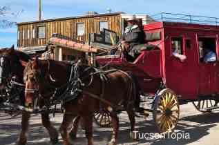 wagon rides at Old Tucson