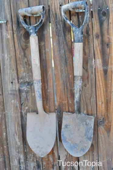 shovels at Tucson Waldorf School
