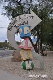 Michael A Perry Memorial Park in Tucson