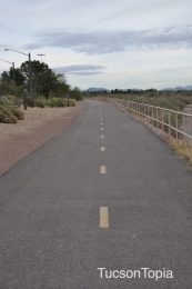 Pantano River Park and Michael Perry Park share property