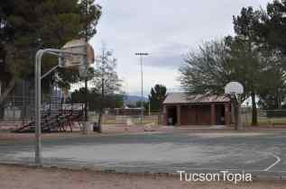 basketball court at Michael Perry Park