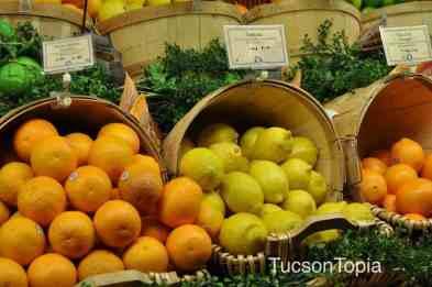 lemons and oranges at AJ's Fine Foods