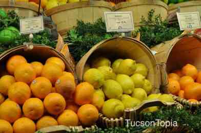 lemons and oranges at AJ's Fine Foods