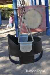baby swing at La Madera Park