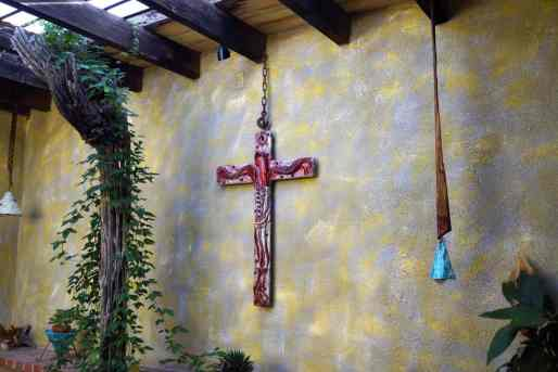 cross at DeGrazia Gallery in the Sun