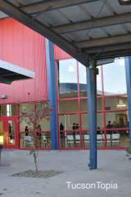 multipurpose room at Sonoran Science Academy Tucson