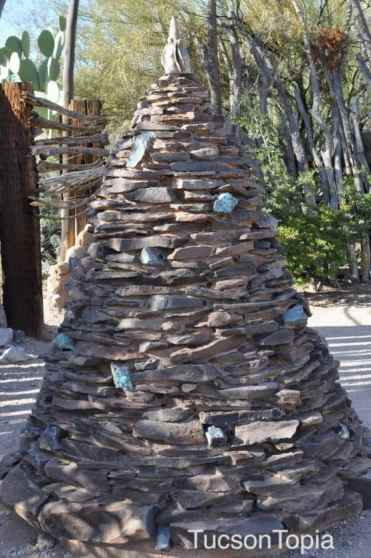 rock formation near the grave of Ettore Ted DeGrazia