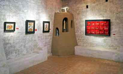 sculptures and art at DeGrazia Gallery in the Sun