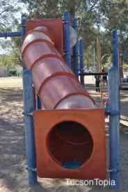 slide at La Madera Park