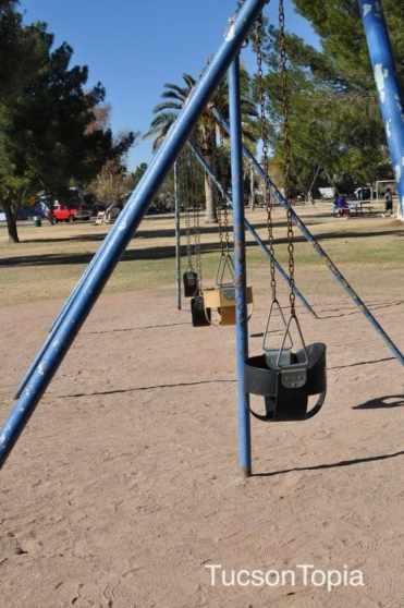 swings at La Madera Park