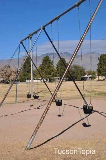 swings at La Maders Park