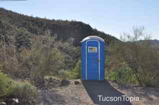 Restrooms at Tumamoc Hill_ This is it