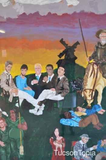mural by a former Salpointe Catholic High School student