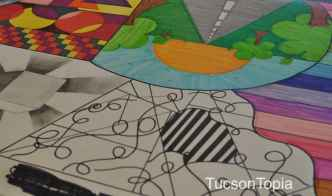 student-artwork-at-Salpointe-Catholic-High-School