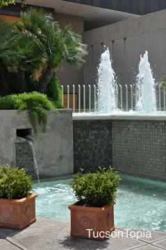 fountain at Tucson Museum of Art