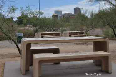 Garden of Gethsemane is located just west of Downtown Tucson