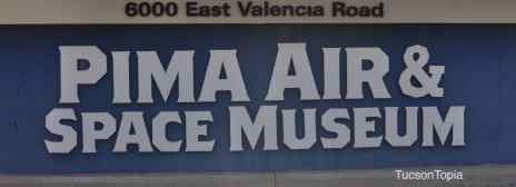 Pima Air _ Space Museum entrance sign