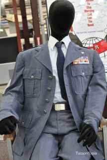 pilot uniform at Pima Air _ Space Museum